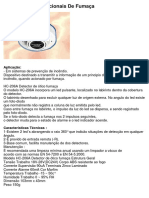 Detector Fumaca