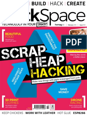 HackSpace Magazine #3 | 3 D Printing | Technology