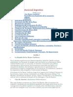 Derecho Constitucional Argentino
