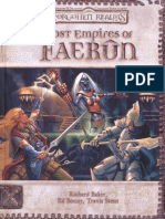 D20 - D&D - Forgotten Realms - Lost Empires of Faerun