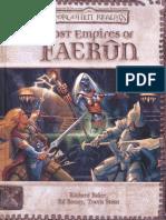 D20 - D&D - Forgotten Realms - Lost Empires of Faerun