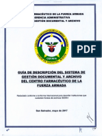 Guia de Descripcion Del Sistema de Gestion Documental y Archivo Del Cefafa - 2017
