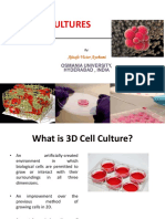 3D Cell Cultures