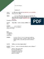 La línea del coro Traducción 2ª Parte
