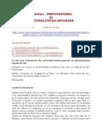 PS Sofian - Penticostarul si Spiritualitatea Ortodoxa