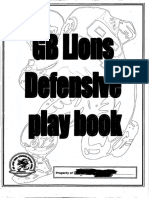 GB Lions 34 Defense-36 Pages