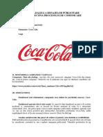 Proces de comunicare marca Coca Cola