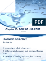 Chapter 10- ROLE of HUB PORT-note 4 Credit