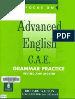 English Advanced Grammer Pratice