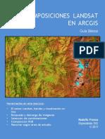 Composiciones Landsat en-Arcgis