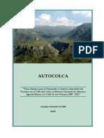 Plan Maestro de Turismo 2007 - 2011 Comprimido autocolca