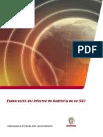 Elaboración Informe Auditoria SGC