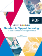 Blended & Flipped Learning-Case Studies in Malaysian HEIs