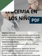 Leucemia en Los Niños.