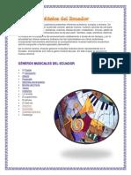 Música Del Ecuador