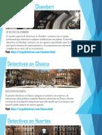 Detectives privados Arga - Detectives en Huertas -