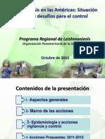 LEISHMANIASIS Presentacion Puntos Focales Oct 20
