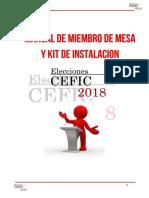 Manual Elecciones Cefic