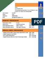 Curriculum Vitae Gilang