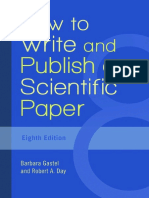 How to Write and Publish a Scientific Paper, Eighth Edition