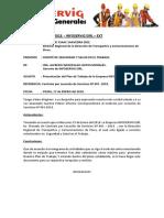 Plan de Trabajo de La Empresa Infoservig Eirl