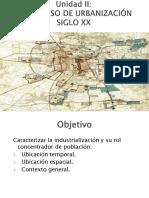 2. Proceso de Urbanización