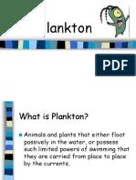 Plankton PPT
