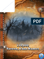 111,000 Tavern & Inn Names