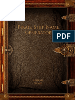 Pirate Ship Name Generator