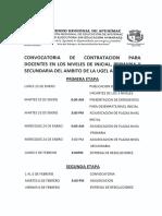 Ugel Aymaraes Cronograma Contratacion Docente 2018 Rm 539 2017 Minedu