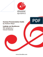 Beethoven Pron Guidebook
