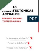3. Teorias Actuales, Bernard y El Concepto