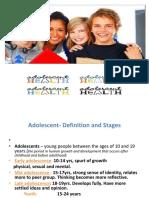 3. Adolescent Health