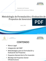 10_ 3er Honduras Metodologia de Formulacion de PIP