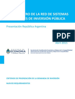 Argentina_-_Criterios de Priorizacion de Inversion