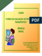 BRASIL Evaluacion Del Sistema de Transporte
