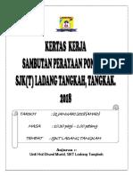 Kertas Kerja Ponggal 2018