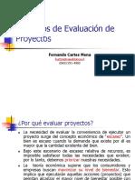 Fcartes Principios de Evaluacion de Proyectos