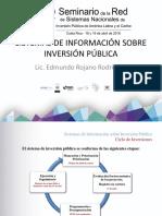 MEXICO  Sistemas de Informacion de Inversion Publica