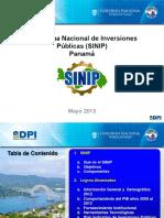 PANAMA_Sistema Nacional de Inversiones Publicas