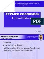 ABM AE12 011 Types of Industry