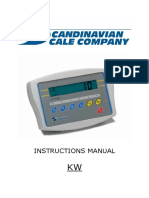 TSCALE Kw-Instruktionsmanual Eng