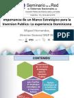 REPUBLICA_DOMINICANA_Importancia de Marco Estrategico en PI