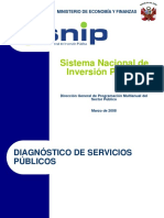 Peru Sistema Nacional de Inversion Publica Ilpes
