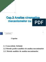 2 Analiza Cinematica a Mecanismelor Cu Bare_modificate