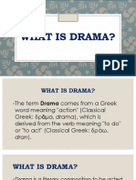 Lesson 1 Grade 7 3rd Grading What is Drama