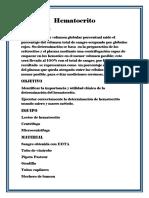 Hematocrito quimica DLXTX