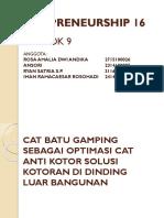 Cat antikotor Kelompok 9 Techno 16