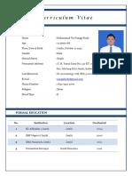 CV panggi