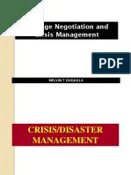 Crisis Management Hostage Negotiation